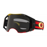 Oakley Crossbril Airbrake Frequency Red Yellow - Dark Grey Lens