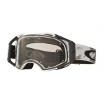 Oakley Crossbril Airbrake Matte White Speed - Clear Lens