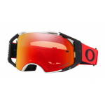 Oakley Crossbril Airbrake Red White - Prizm Torch Lens