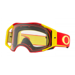 Oakley Crossbril Airbrake Red Yellow - Clear Lens