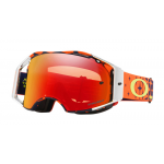Oakley Crossbril Airbrake TLD Megaburst Orange Navy - Prizm Torch Lens