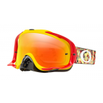 Oakley Crossbril Crowbar Camo Vine Red Yellow - Fire Iridium Lens