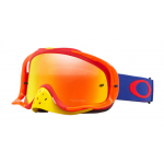 Oakley Crossbril Crowbar Flo Blue Red - Fire Iridium Lens