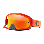 Oakley Crossbril Crowbar Orange Red - Fire Iridium Lens