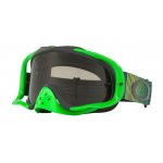 Oakley Crossbril Crowbar Shockwave Green Grey - Dark Grey Lens