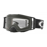 Oakley Crossbril Front Line MX Matte Black Speed - Clear Lens