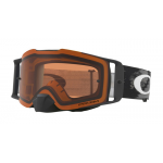 Oakley Crossbril Front Line MX Matte Black Speed - Prizm Bronze Lens