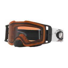 Oakley Crossbril Front Line MX Matte White Speed - Prizm Bronze Lens