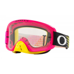 Oakley Crossbril O-frame 2.0  Dissolve Pink Yellow - Clear Lens