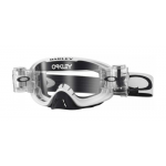 Oakley Crossbril O-frame 2.0  Matte White Roll-Off - Clear Lens