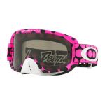 Oakley Crossbril O-frame 2.0  TLD Faded Dot Pink - Dark Grey Lens