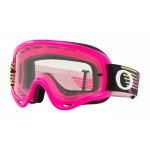 Oakley Crossbril O-frame Circuit Pink Green - Clear Lens