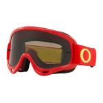 Oakley Crossbril O-frame Red Yellow - Dark Grey Lens