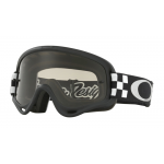 Oakley Crossbril XS O-frame TLD Checker Black White - Dark Grey Lens