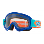 Oakley Crossbril XS O-frame Treadburn Orange Blue - Clear Lens