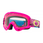 Oakley Crossbril XS O-frame Wind Tunnel Pink - Clear Lens