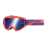 Progrip Crossbril 3201 FL Venom - Fluo Oranje - Spiegel Lens