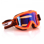 Progrip Crossbril 3204 - Fluo Mat Oranje - Spiegel Lens