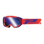 Progrip Crossbril 3303 FL Vista - Rood / Blauw - Spiegel Lens