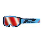 Progrip Crossbril 3303 FL Vista - Turqoise / Zwart - Spiegel Lens