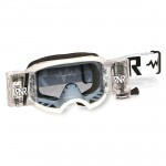 RNR Crossbril WVS Racerpack Colossus 50MM - Wit