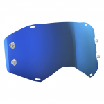 Scott Prospect Single Works Lens - Electric Blauw Chrome