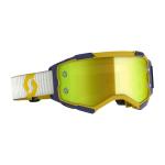 Scott Crossbril Fury - Geel / Blauw - Spiegel Lens