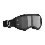 Scott Crossbril Fury LS - Zwart / Grijs - Spiegel Lens