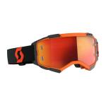 Scott Crossbril Fury - Oranje / Zwart - Spiegel Lens