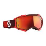 Scott Crossbril Fury - Rood - Spiegel Lens