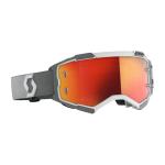 Scott Crossbril Fury - Wit / Grijs - Spiegel Lens