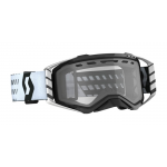 Scott Crossbril Prospect Enduro - Zwart / Wit - Clear Lens