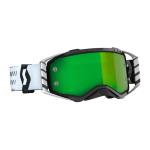 Scott Crossbril Prospect - Zwart / Wit - Spiegel Lens