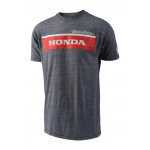 Troy Lee Designs T-shirt Honda Wing Block - Grijs