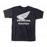 Troy Lee Designs T-shirt Honda Wing - Jeugd - Zwart