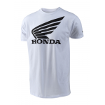Troy Lee Designs T-shirt Honda Wing - Wit