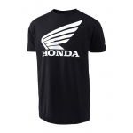 Troy Lee Designs T-shirt Honda Wing - Zwart