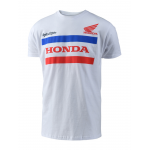Troy Lee Designs T-shirt Honda - Wit