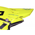 6D Kinder Helmklep ATR-1 Macro - Neon Geel