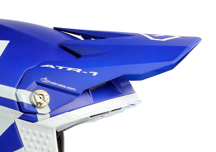 20a79db9 Visors : 6D - Helmet Visor ATR-1 Macro - Matte Blue