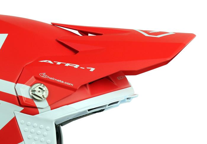 96a6238d Visors : 6D - Helmet Visor ATR-1 Macro - Matte Red