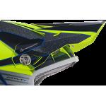 6D Kinder Helmklep ATR-1Y Avenger - Neon Geel
