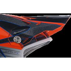 6D Kinder Helmklep ATR-1Y Avenger - Neon Oranje