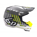 6D Crosshelm ATR-2 Motion - Neon Geel