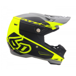 6D Crosshelm ATR-2 Shadow - Neon Geel