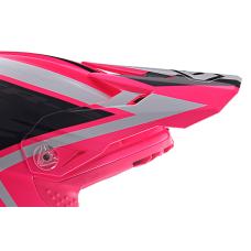 6D Kinder Helmklep ATR-2Y Strike - Neon Roze