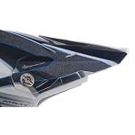 6D Kinder Helmklep ATR-1Y Avenger - Blauw / Wit