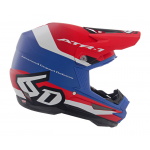 6D Crosshelm ATR-1 Pace - Rood / Wit / Blauw