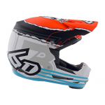 6D Kinder Crosshelm ATR-2Y Danger Boy - Oranje / Blauw