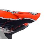 6D Kinder Helmklep ATR-2Y Danger Boy - Oranje / Blauw